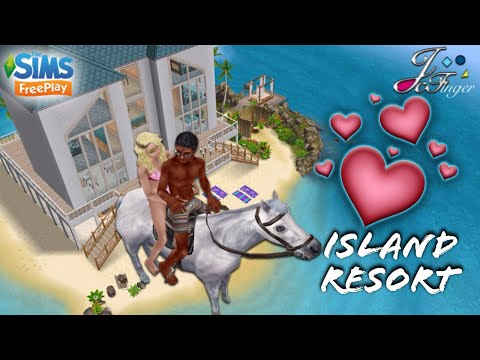 The Sims FreePlay 👙🌴| ISLAND RESORT |🌴👙 By Joy.