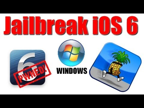 Jailbreak iOS 6 (WINDOWS) espaol