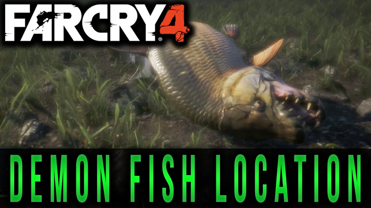 Far cry 4 demon fish location youtube for Where to buy fishing license near me