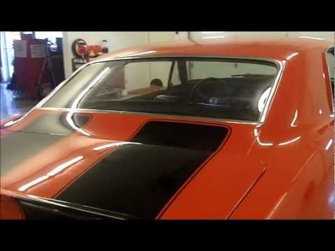 1967 Red Chevrolet Camaro Hardtop Coupe with Black Z-Stripes 350ci SBC 4-speed 12-bolt for sale