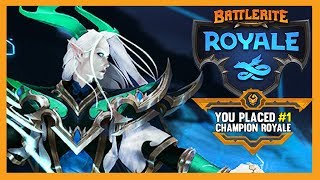 J'ADORE SHEN RAO - Battlerite Royale Gameplay + top 1