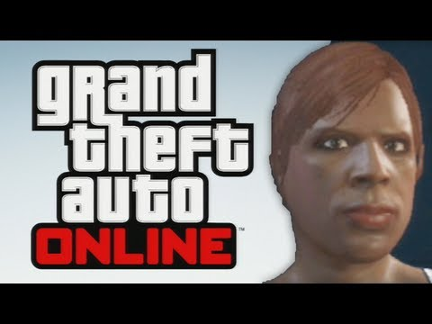 GTA 5 Online - Meet SHANIQUA - Character Creation and Intro Online Mulitplayer Walkthrough Gameplay