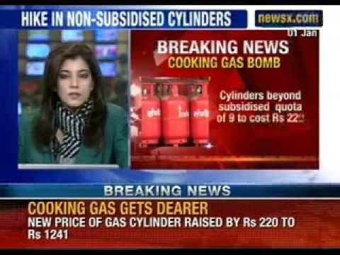 Price of commercial LPG cylinder will be hiked by Rs 350 - NewsX