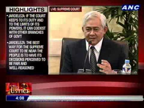 #CJsearch: Solicitor General Francis Jardeleza (3/3)
