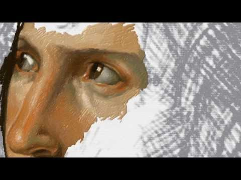 Time lapse painting 'Anne-Louis Girodet - Portrait d'une jeunesse' in Fresh Paint on Surface Pro