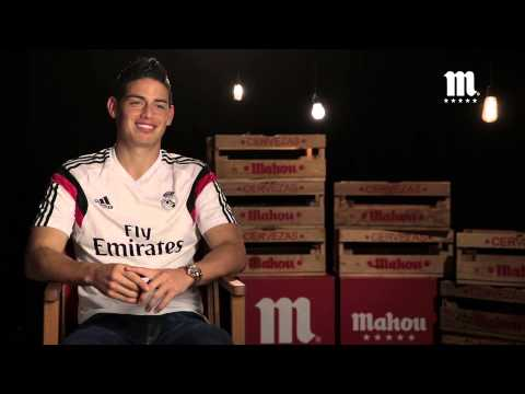 Entrevista James Rodríguez