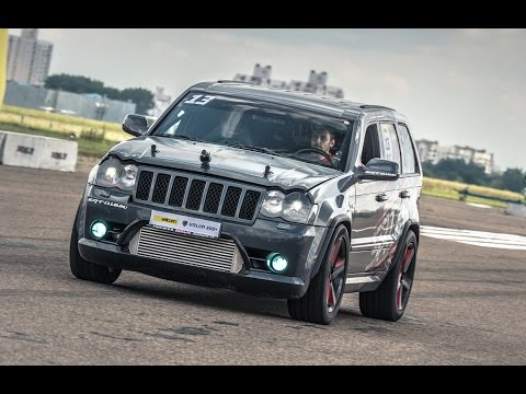 Jeep SRT8 Turbo vs Lamborghini Gallardo vs Nissan GT-R