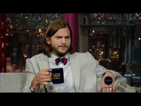Ashton Kutcher (Letterman)