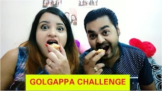 GOLGAPPA CHALLENGE || WHO SING A SONG AFTER LOOSING||CHANDNI BEAUTYZONE