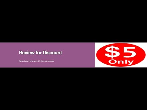 WooCommerce Review for Discount 1.6.1 Extension Download