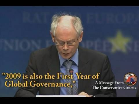 Global Governance - EU President Admits One-World Government is Here - NWO - New World Order