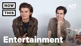 Stranger Things star Joe Keery Plays Dungeons and Dragons for the First Time | NowThis