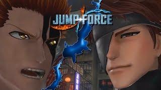 Jump Force TYBW AIZEN ICHIGO and RUKIA GAMEPLAY