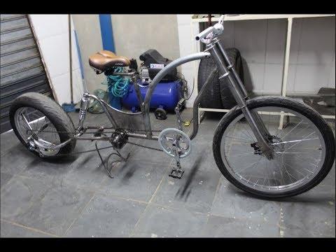 Olha só como está ficando a Bike Chopper nº4