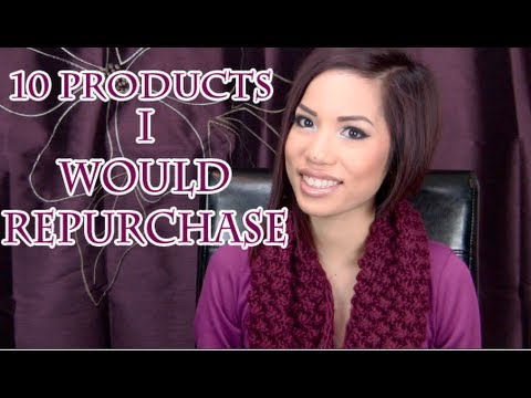 10 Products I Would Repurchase  ♡ TAG