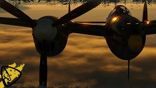 "War Thunder - ""Climb King"" P-38K"