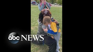 Boy, 6, reads football coach a letter of thanks l ABC News