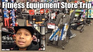 """Fitness Equipment Store Trip """"Christmas Sale Shopping"""" (Sports Authority)"""