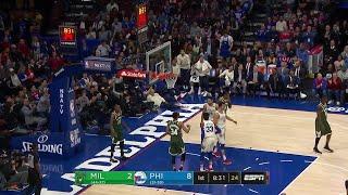 1st Quarter, One Box Video: Philadelphia 76ers vs. Milwaukee Bucks