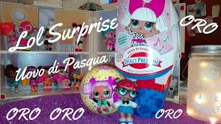 Doppio unboxing! Uovo Lol surprise e Lol confetti pop OROOOOO!!!!!!
