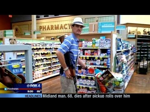 Gun control group pushes for Kroger to change gun policy