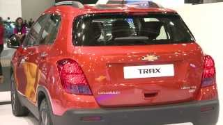 The All New 2014 Chevrolet Trax.Small SUV for Urban Adventures.