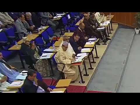 شاهد بالفيديو كيف تم التصويت على جميع نقط دورة فبراير الاستثنائية لمجلس جهة كلميم واد نون