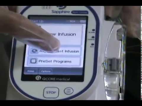 Sapphire pump user manual