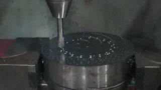 Fräsmaschine fkm350pl cnc in alu 22