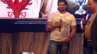 Станислав Яневский на Комик Коне 2015/Stanislav Ianevski on Comic Con SPb