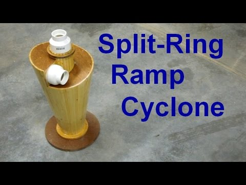 Split-Ring Ramp Cyclone Separator Part One
