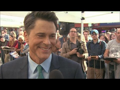 Rob Lowe on His 'Hot' Sons: 'I'm Fully Embracing The Old Man Moniker'