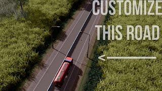 Cities: Skylines - How to create custom roads with the Ploppable Asphalt mod