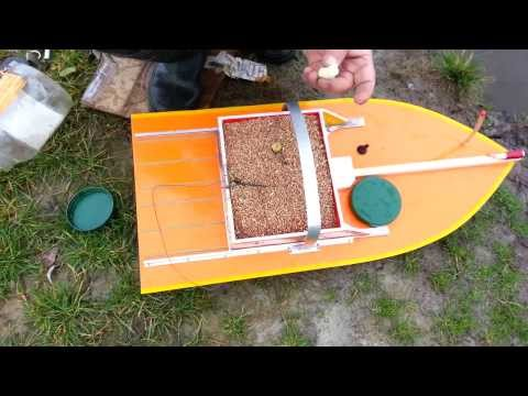 Кораблик для прикорма своими руками
