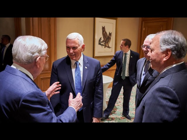 Church Leaders Meet with US Vice President Mike Pence