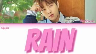 남우현 (Nam Woo Hyun) – Rain Color Coded Lyrics [Han/Rom/Eng]
