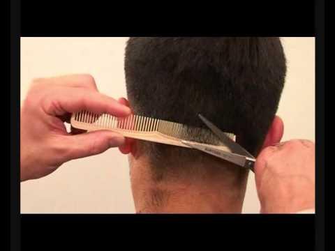 Уроки мужские стрижки - видео