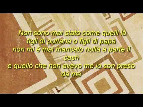 SFERA EBBASTA - FIGLI DI PAPA' (OFFICIAL VIDEO LYRICS)