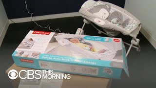 Inclined sleepers blamed in infant deaths still in use despite recall