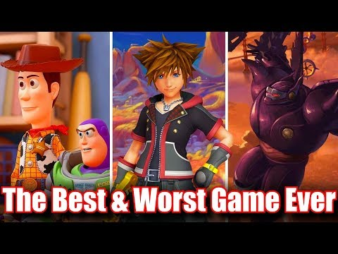 Kingdom Hearts 3 The Best & Worst Game Ever