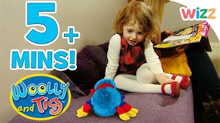 Woolly and Tig - At the Hairdressers | Flying a Kite in the Park