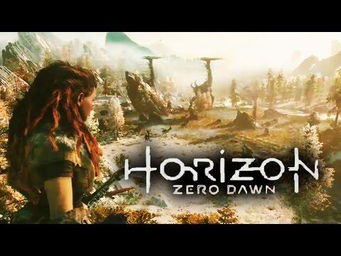 Horizon Zero Dawn E3 2015 Gameplay Trailer Sony Playstation PS4 Press Conference