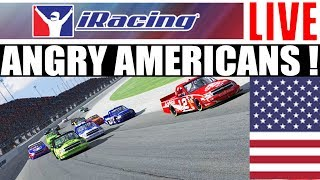iRacing with Angry Americans !
