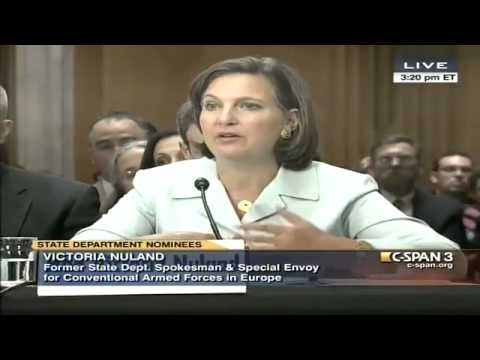 Victoria Nuland: I never saw Susan Rice's talking points