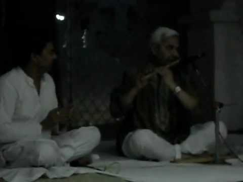 Art Of Living Function :flute Bhajan : Nand Ke Lala :  At Ambala video