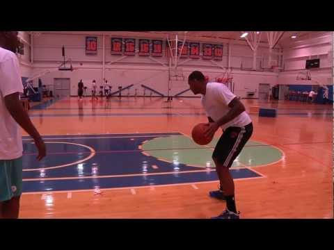 Hakeem Olajuwon & Carmelo Anthony Session NYC 2012 Part 1