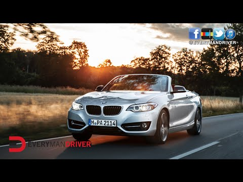 FIRST LOOK: 2015 BMW 2 Series Convertible on Everyman Driver