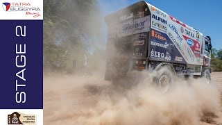 TATRA BUGGYRA RACING on DAKAR 2017 - Stage 2
