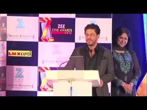 Shahrukh Khan At 'Zee Cine Awards 2014′ Press Conference Photo,Image,Pics-