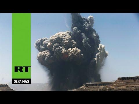 Aviones de Arabia Saudita bombardean Saná, la capital de Yemen